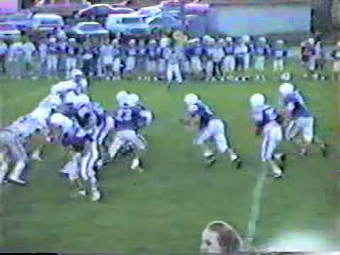 Ponca Indians football 1989 (crofton, Laurel)