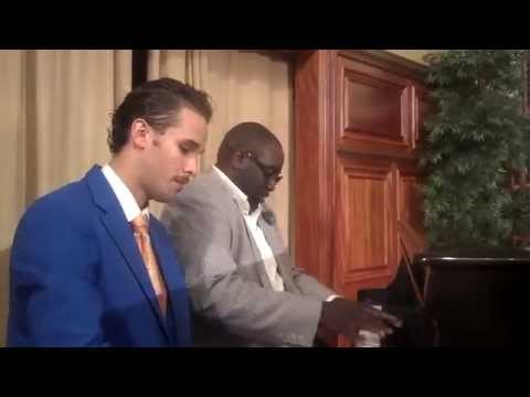 Marvin Williams and Joshua Pope play the piano!