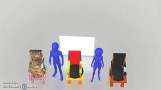IEM 3D drawing modeling of the chair