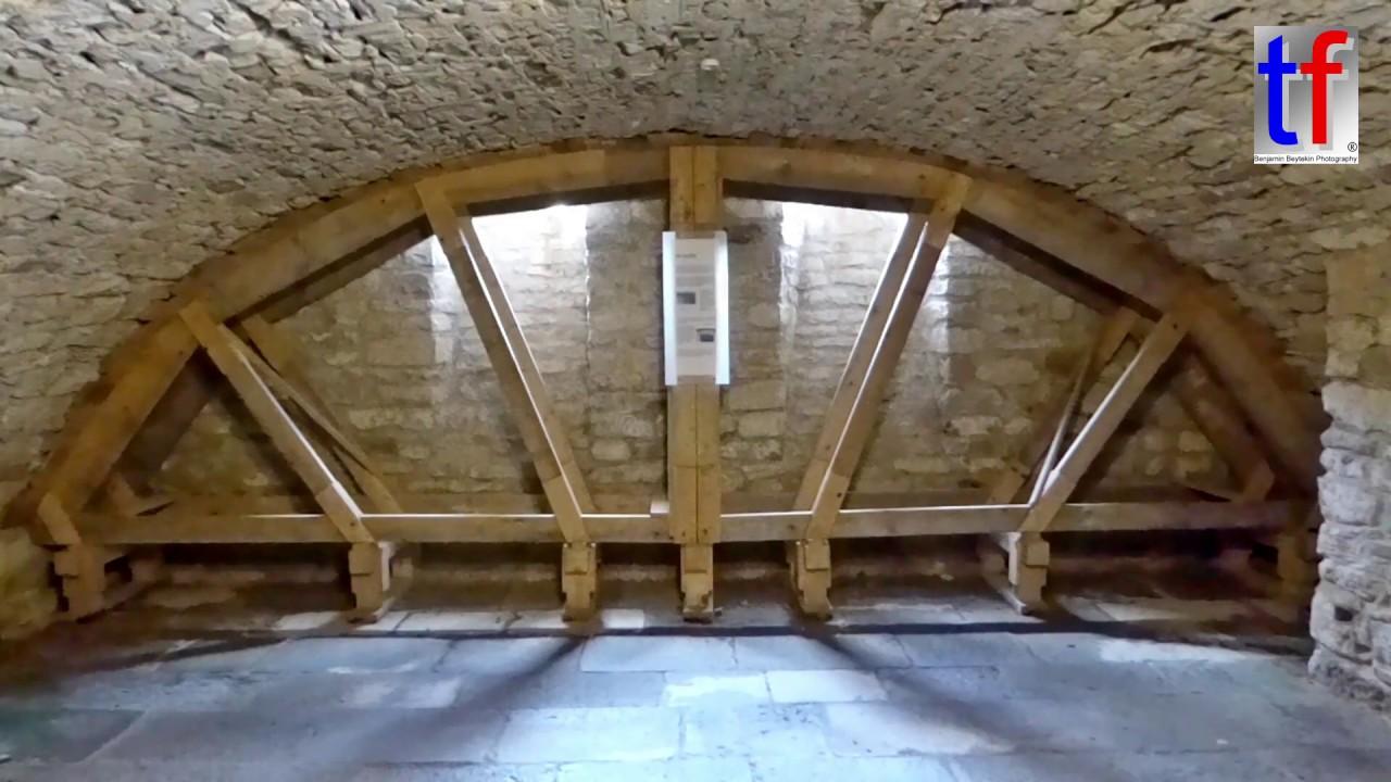 Vaulted Cellar Support Stutzgerust Gewolbekeller Wackershofen