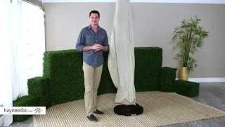 Treasure Garden Off Set Umbrella Cover - Product Review Video