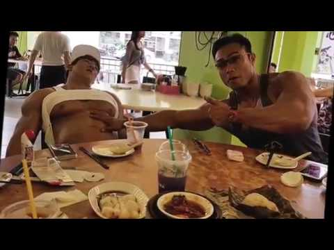 Chul soon and friends Singapore Tour,cheatmeal , hangout