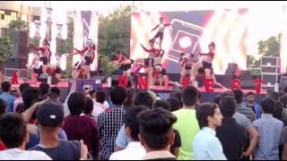 #Galgotias college# dance competition