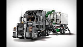 The Easy Way to motorize your Lego Technic Mack Anthem Trailer