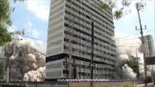 Подрывы и падения многоэтажных зданий и жилых домов 2!