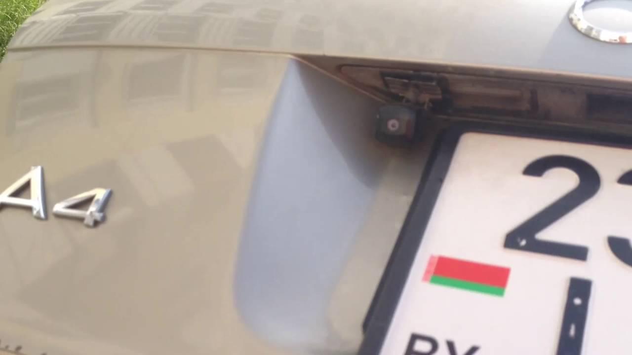 Открытие крышки багажника после установки амортизаторов stabilus