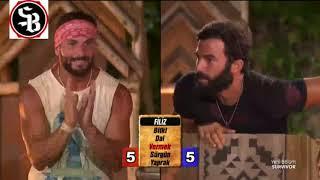 Mustafa yasaklı kelimeleri kullanınca Turabi'yi çıldırttı! - Survivor 78.bölüm
