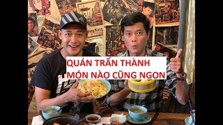 Hotboy trà sữa lại quán A MÀ hy vọng gặp Trấn Thành để....xin làm phục vụ!!!