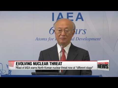 UN nuclear agency expresses concern over North Korea's nuclear program