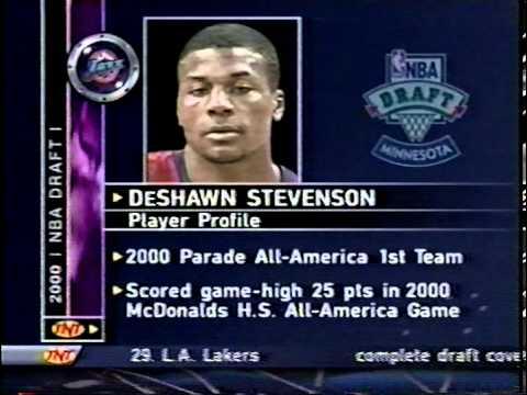 DeShawn Stevenson - 2000 NBA Draft - Pick #23