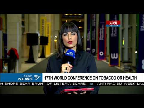 Cape Town hosts the 17th World Conference on Tobacco or Health