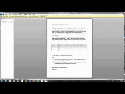 The Blackboard Course Shell for Speech Communication