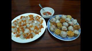Cách Làm Bánh Ít - Bánh Ram - Món Ngon Xứ Huế