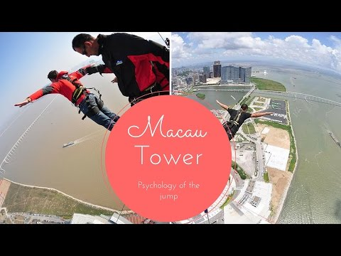 Macau Tower the psychology of the jump Macau China