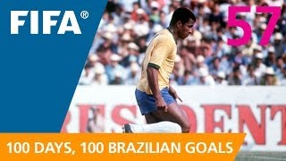 100 Great Brazilian Goals: #57 Jairzinho (Mexico 1970)