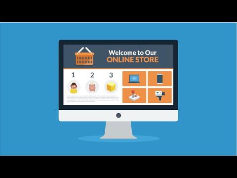 E-Commerce Online Store Web Design Company | SGF Services Bangkok Thailand