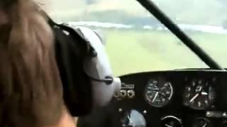 Идиотская и не смешная шутка пилота    Вот дебил