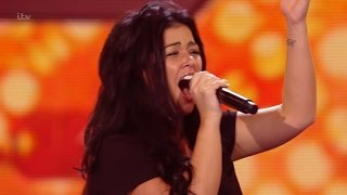The X Factor UK 2015 S12E10 6 Chair Challenge - Girls - Lauren Murray Full Clip