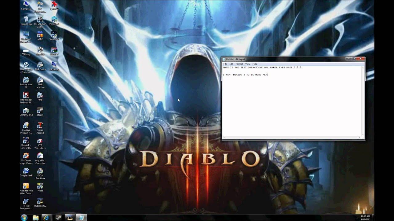 Diablo 3 Tyrael DreamScene