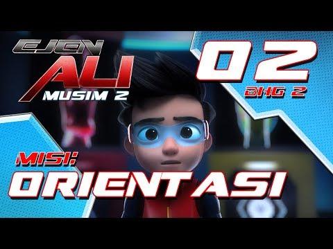 Ejen Ali - Musim 2 (EP02) - Misi : Orientasi [Bahagian 2]