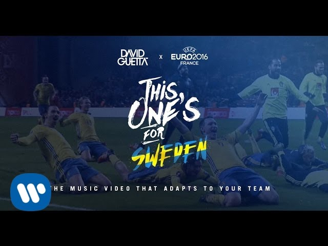 Download David Guetta ft. Zara Larsson - This One's For You Sweden (UEFA EURO 2016™ Official Song)