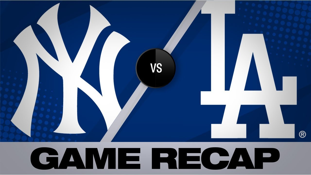 Download Gregorius' grand slam, 2 homers lead Yankees | Yankees-Dodgers Game Highlights 8/23/19