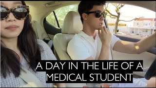 EP2- A Day in the Life of a 1st Year Medical Student | JaneandJady thumbnail
