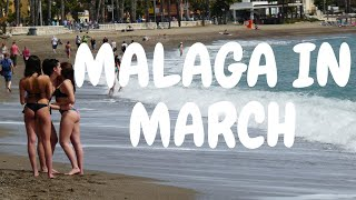 Malaga in March, Andalusia Spain Travel Video