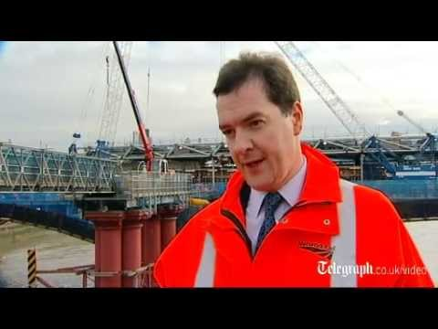 Chancellor of the Exchequer George Osborne: 'We are laying the foundations for success'