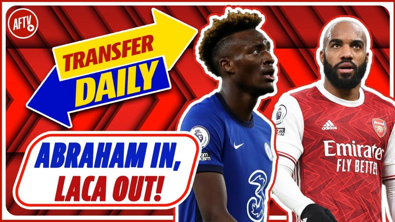 Abraham In, Lacazette Out!   AFTV Transfer Daily LIVE