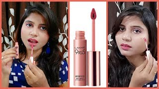 Lakme 9to5 weightless matte mousse lip & cheek color honest Review and demo // Mystyle and tips
