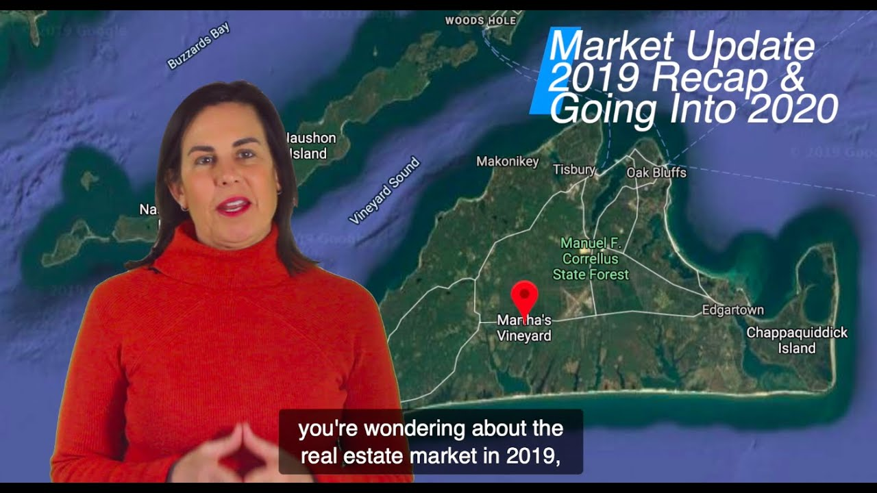 Martha's Vineyard Real Estate - Annual Sales Summary for 2019