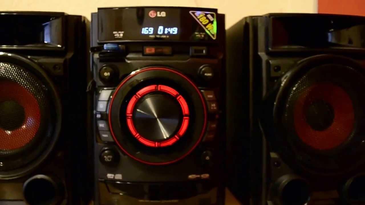 Lg Cm4330 Mini Hi Fi System 180 W Rms Youtube