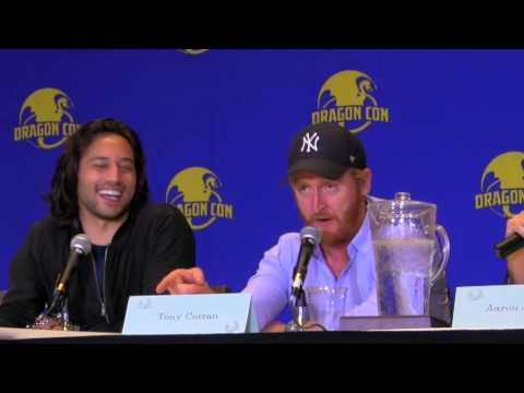 Tony Curran Gets Enamored With A Southern Accent! Defiance Panel Dragon Con 2015