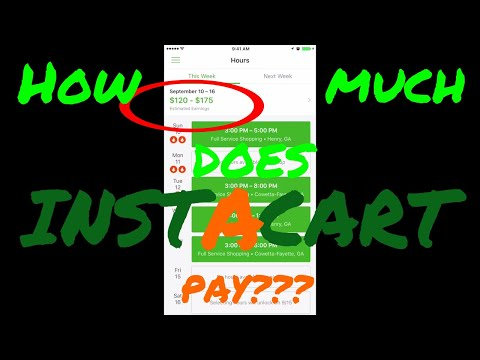 Instacart | How Much Does it PAY???