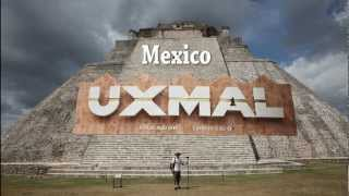 Mayan ruins at Uxmal Mexico