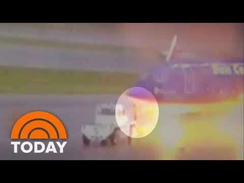 Lightning Striking Florida Airport Ground Worker Caught On Camera | TODAY