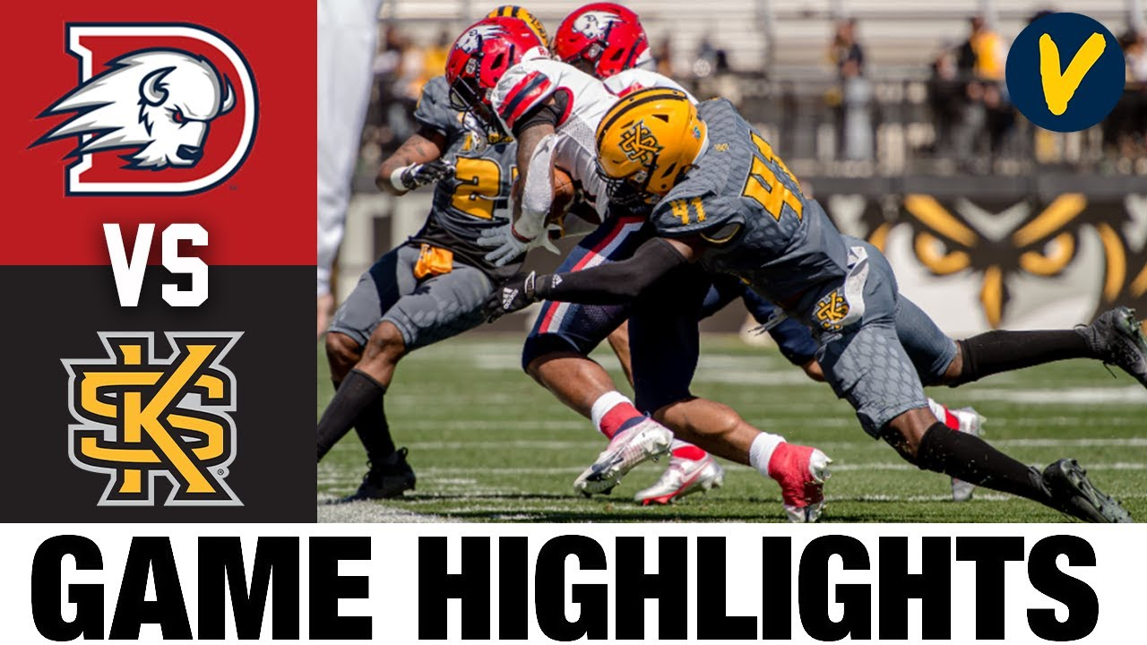 Dixie State vs #9 Kennesaw State Highlights | FCS 2021 Spring College Football Highlights
