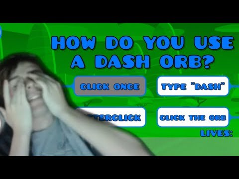 The Impossible Quiz In Geometry Dash