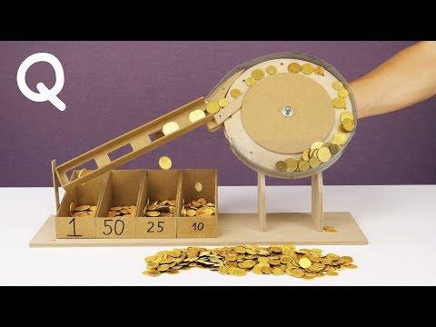 DIY Mechanical Coin Sorting Machine