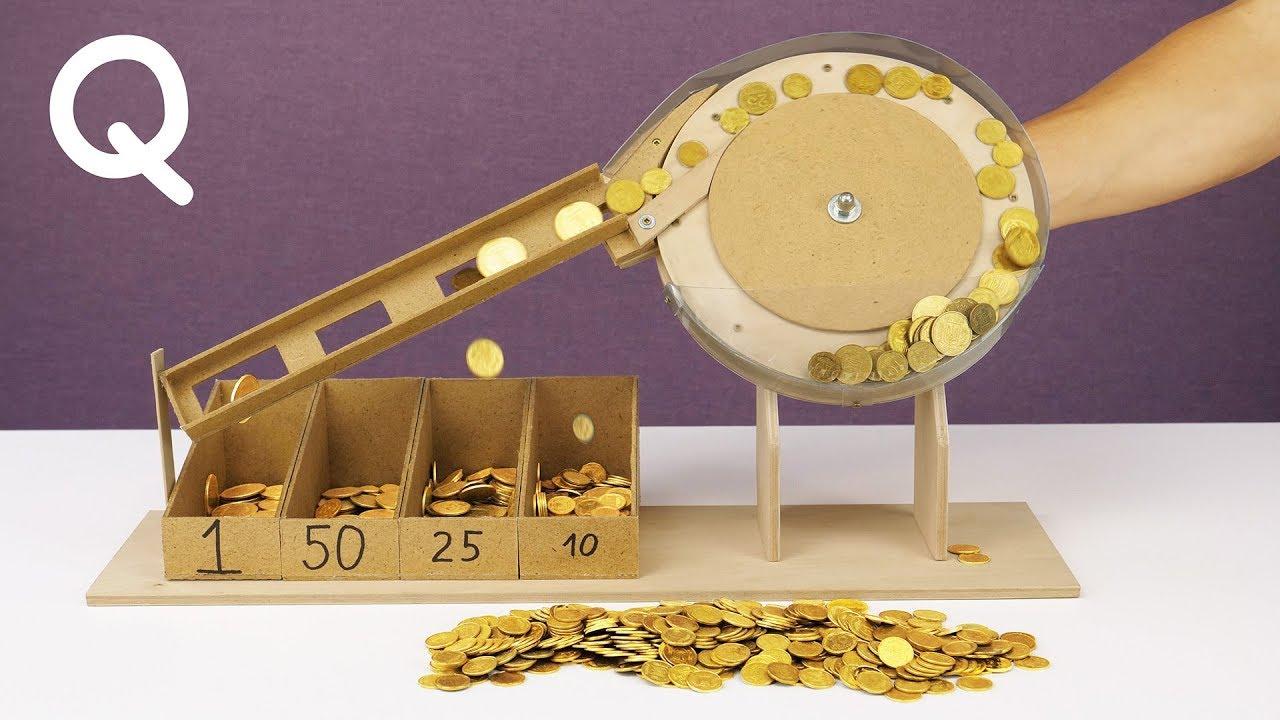 Download DIY Mechanical Coin Sorting Machine