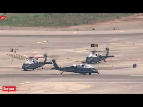 SIMPLY AMAZING: President Donald Trump Departs for Jerusalem in Marine One Helicopter, Must Watch!
