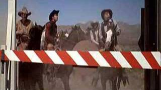 Toll Booth in Blazing Saddles