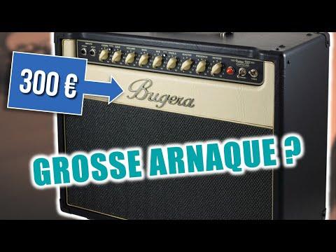 Bugera V22, l'ampli guitare tout lampes à 300 euros (test)
