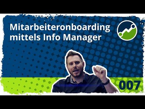 tricoma support #007: Mitarbeiteronboarding mittles Info Manager - Tipps aus der Praxis