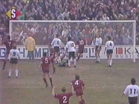 [90/91] Port Vale v Manchester City, Jan 26th 1991
