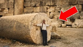 Ancient Rome Did NOT Build THIS Part 2 - World's LARGEST Stone Columns - Lost Technology - Baalbek