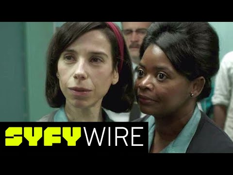 Sally Hawkins & Octavia Spencer on Their Friendship in Shape of Water  SYFY WIRE