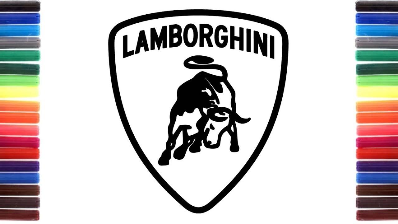 How To Draw Lamborghini Logo Youtube