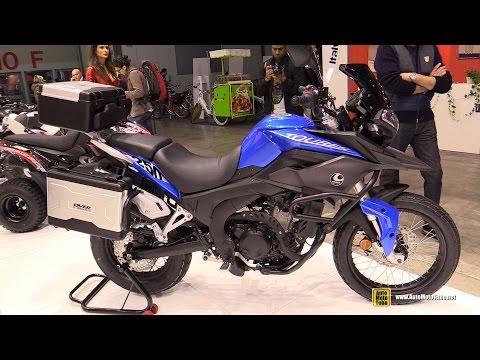 2015 Over Tourer 250 Motorcycle - Walkaround - 2014 EICMA Milan Motorcycle Exhibition